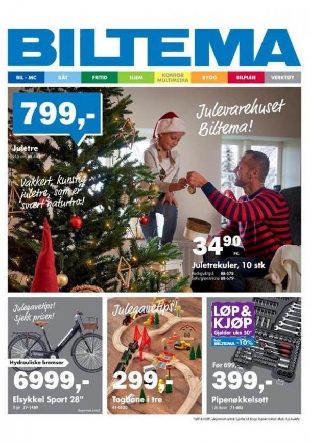BILTEMA Kundeavis . Biltema (2019-12-14-2019-12-14)