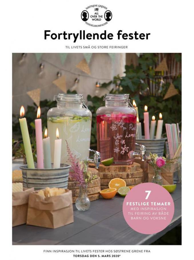 Fortryllende fester  . Søstrene Grene (2020-03-05-2020-03-05)