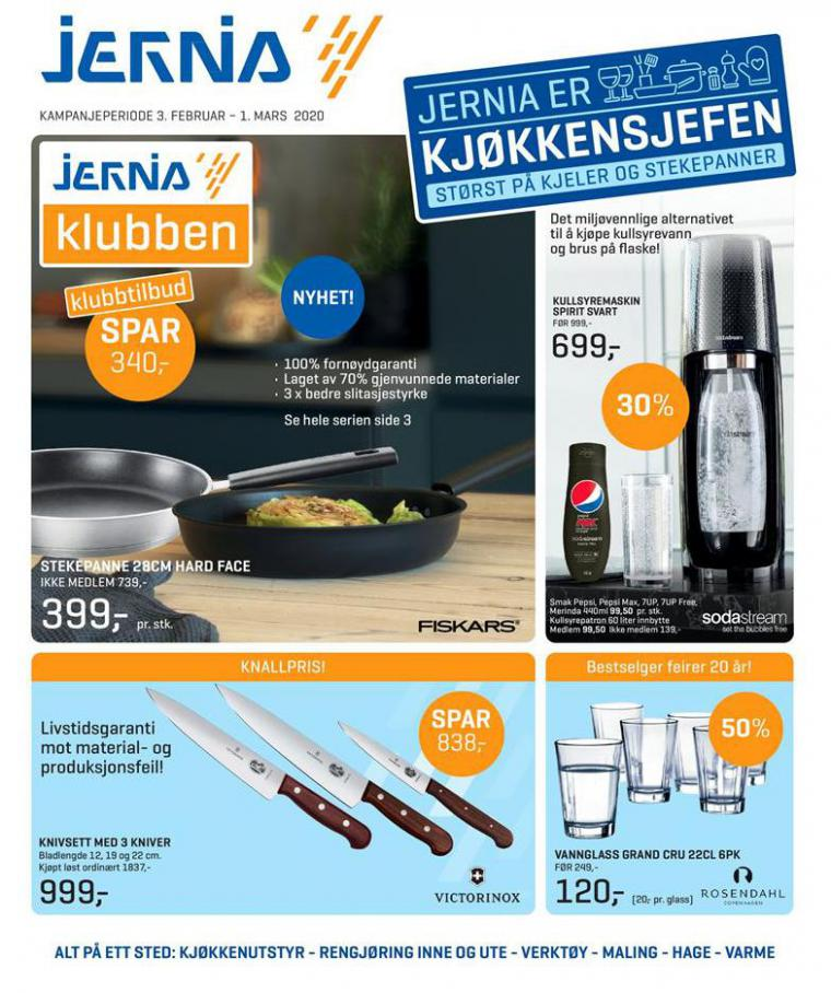 Jernia kundeavis . Jernia (2020-03-01-2020-03-01)