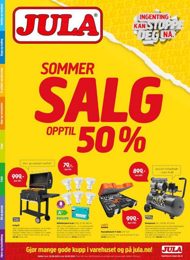 Sommer salg . Jula (2020-09-04-2020-09-04)