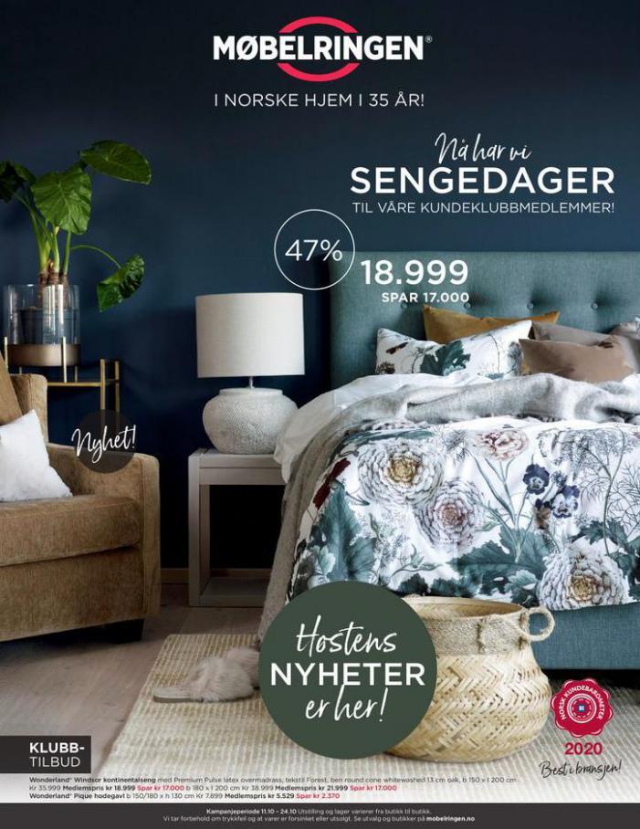 Ny kundeavis ute med mange gode tilbud! . Møbelringen (2020-10-24-2020-10-24)