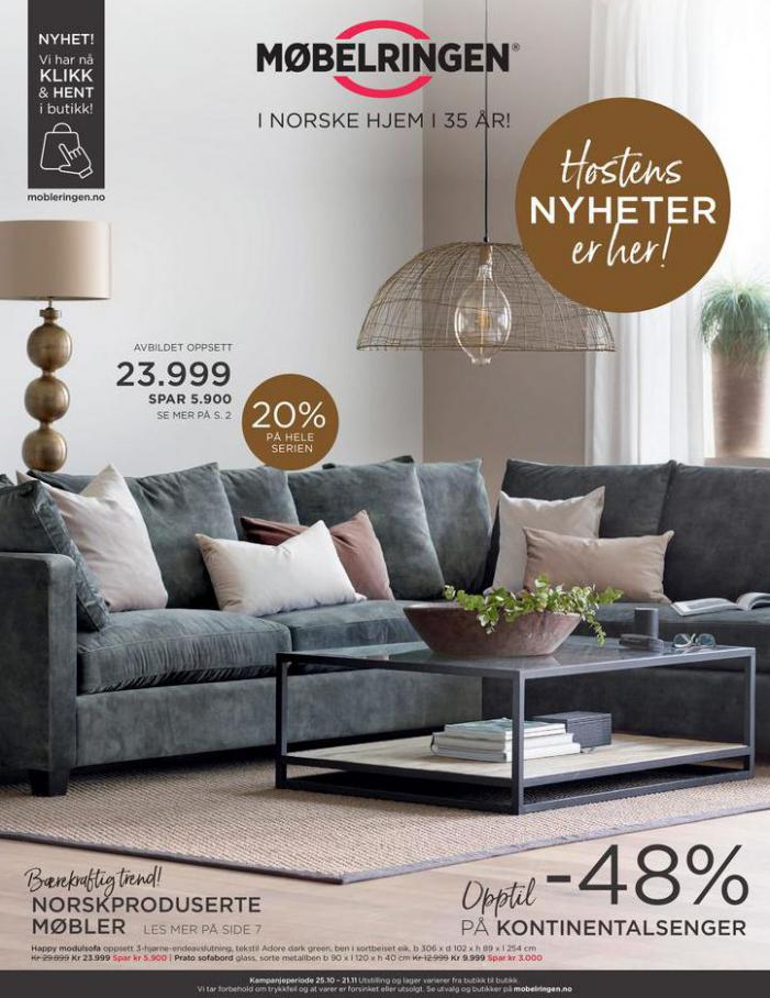 Ny kundeavis ute med mange gode tilbud! . Møbelringen (2020-11-21-2020-11-21)