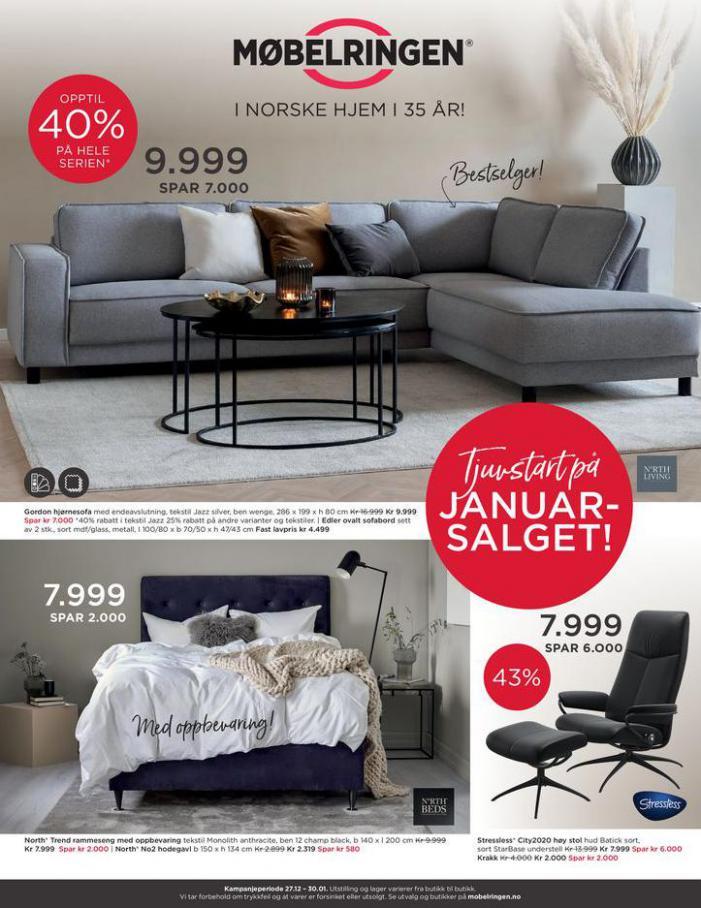 Ny kundeavis ute med mange gode tilbud! . Møbelringen (2021-01-30-2021-01-30)