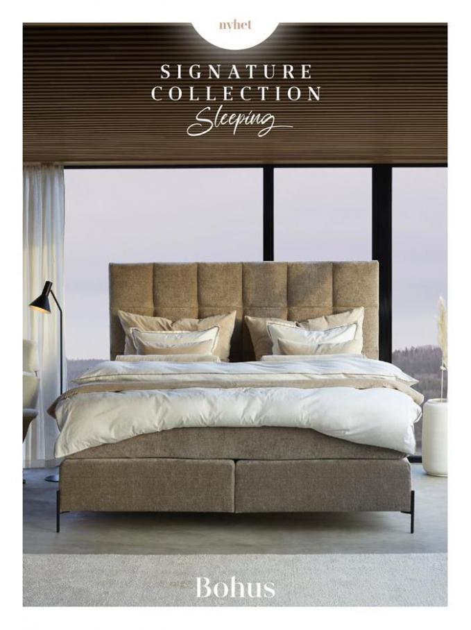 Signature Collection Sleeping . Bohus (2021-01-31-2021-01-31)