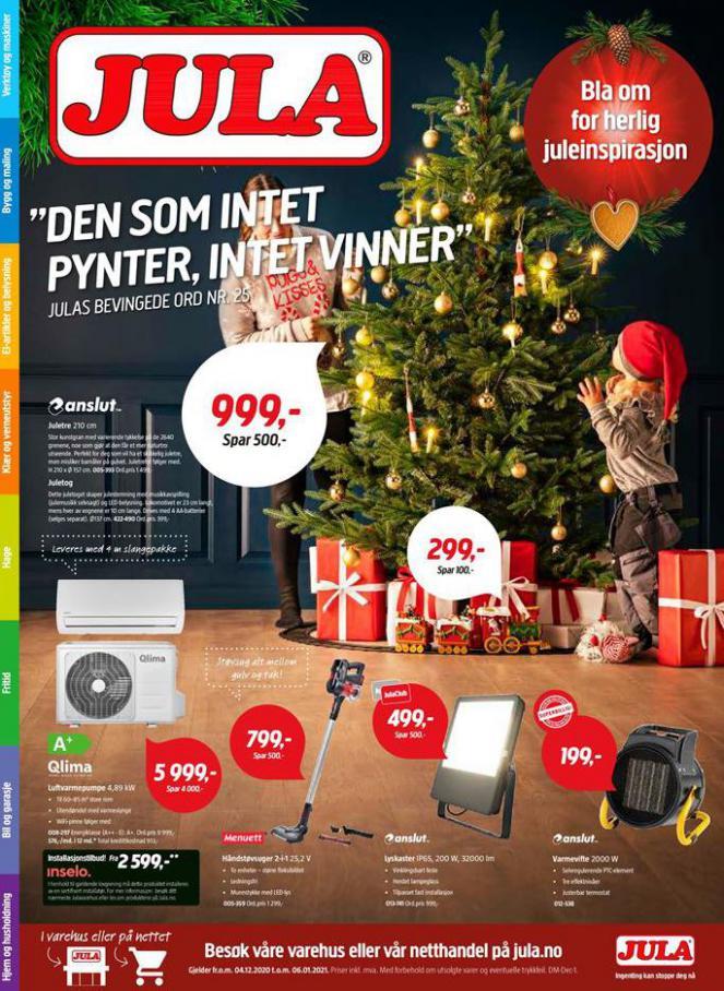 Jula kundeavis . Jula (2021-01-06-2021-01-06)