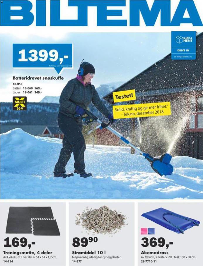 Weekly ad . Biltema (2021-01-19-2021-01-19)