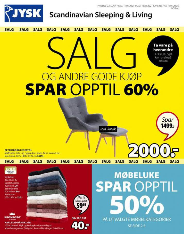 Salg . JYSK (2021-01-16-2021-01-16)