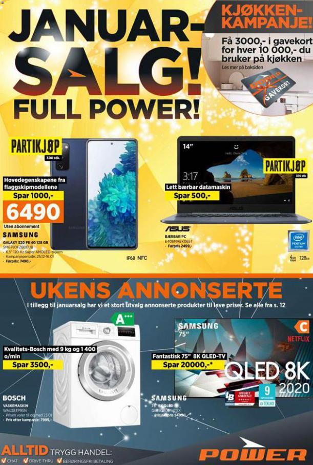 POWER Kundeavis . POWER (2021-01-17-2021-01-17)