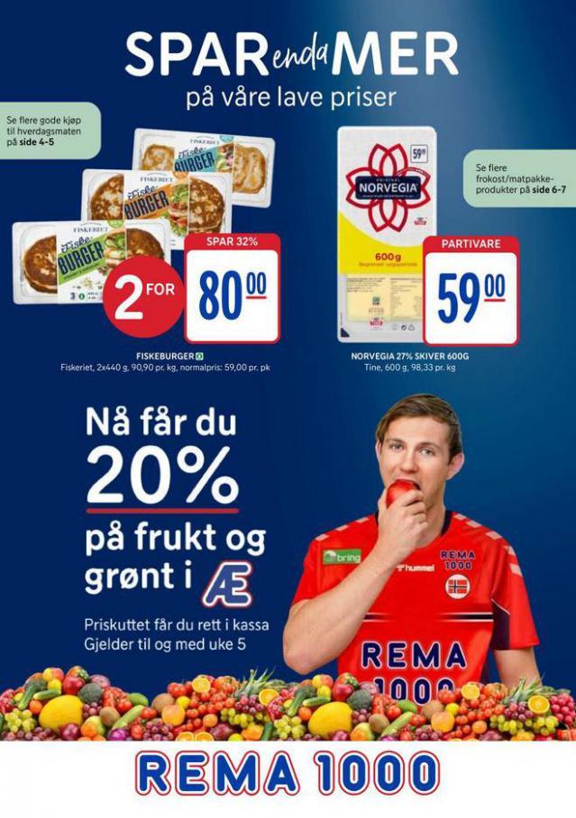 Rema 1000 Kundeavis . Rema 1000 (2021-01-24-2021-01-24)
