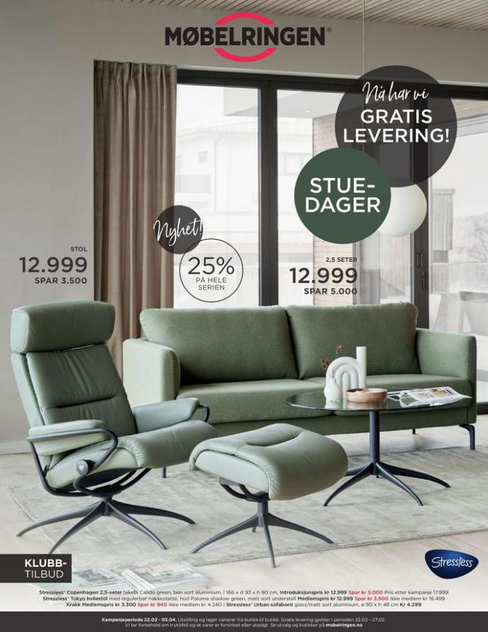 Ny kundeavis ute med mange gode tilbud! . Møbelringen (2021-04-03-2021-04-03)