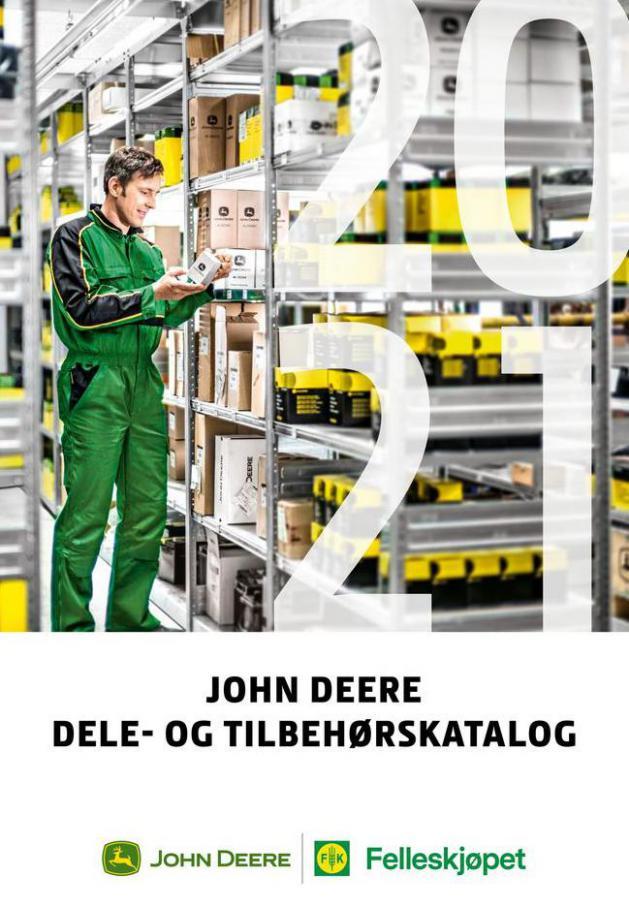 John Deere Dele og tilbehrskatalog 2021 . Felleskjøpet (2021-06-30-2021-06-30)