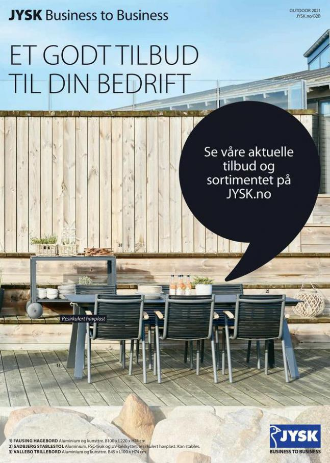 Outdoor catalogue 2021 . JYSK (2021-04-04-2021-04-04)