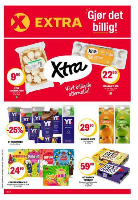 Coop Extra Kundeavis . Coop Extra (2021-05-02-2021-05-02)