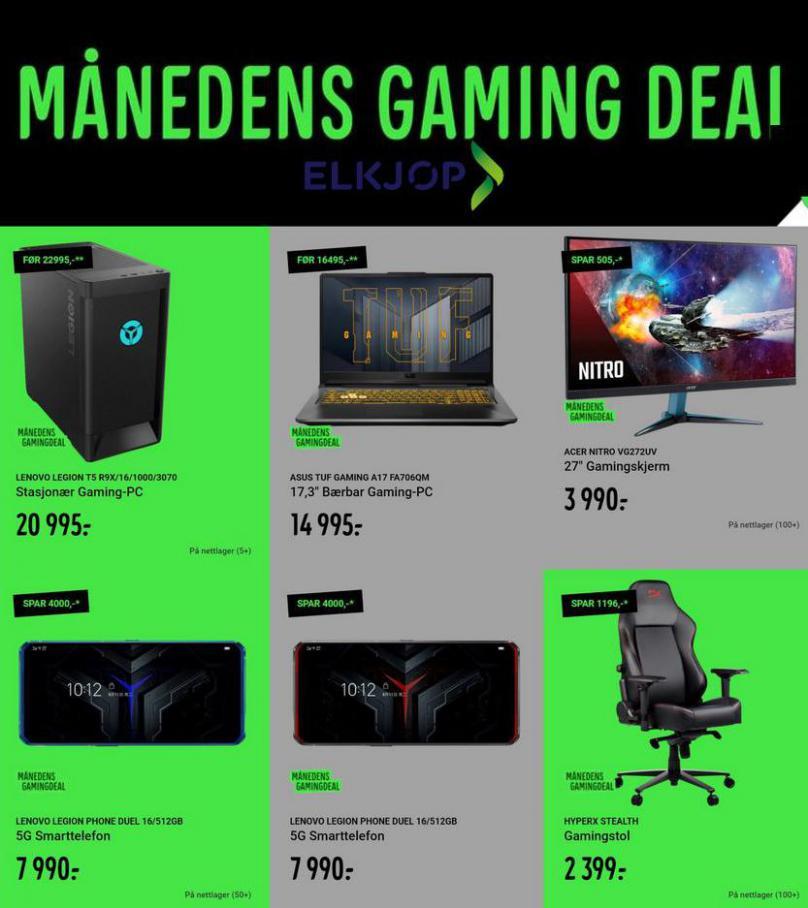 Manedens Gaming Deal . Elkjøp (2021-05-02-2021-05-02)