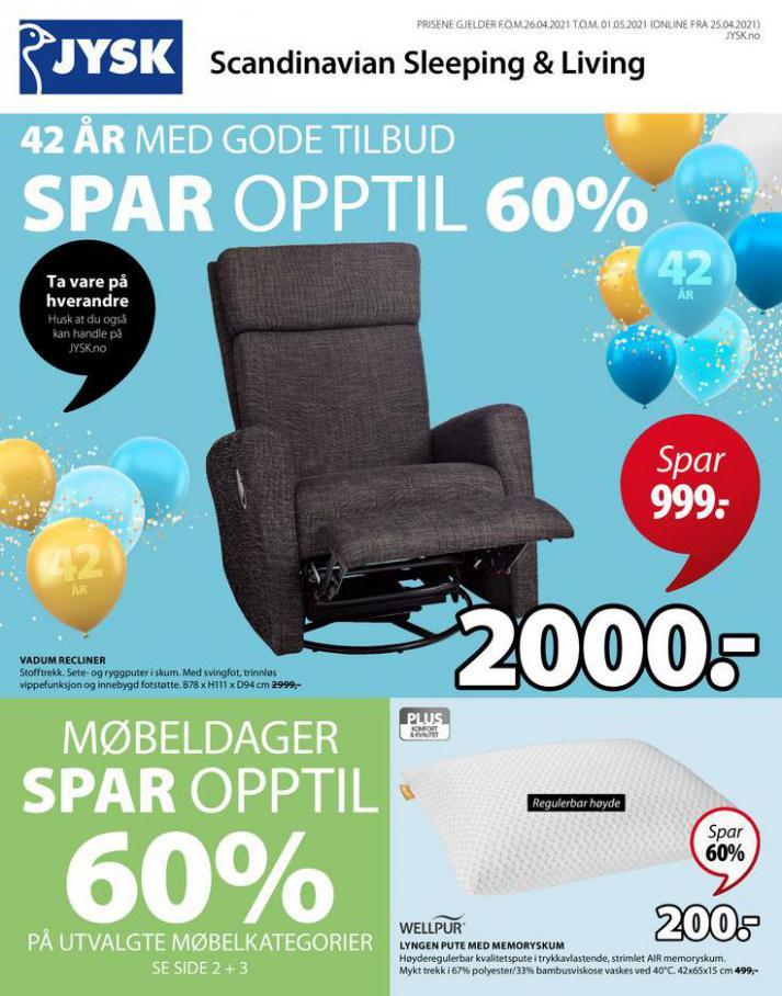JYSK Kundeavis . JYSK (2021-05-01-2021-05-01)