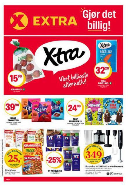 Coop Extra Kundeavis . Coop Extra (2021-04-25-2021-04-25)