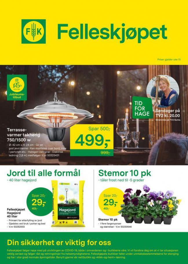 Felleskjøpet Kundeavis . Felleskjøpet (2021-04-18-2021-04-18)