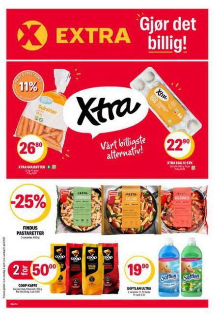 Coop Extra Kundeavis . Coop Extra (2021-04-11-2021-04-11)
