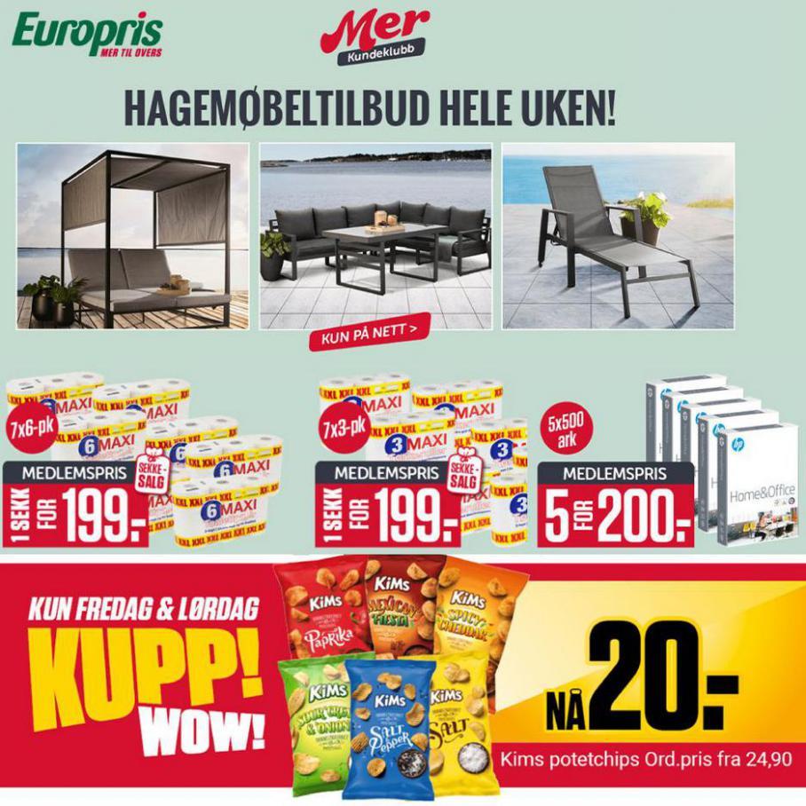 Kampanjer. Europris (2021-07-12-2021-07-12)