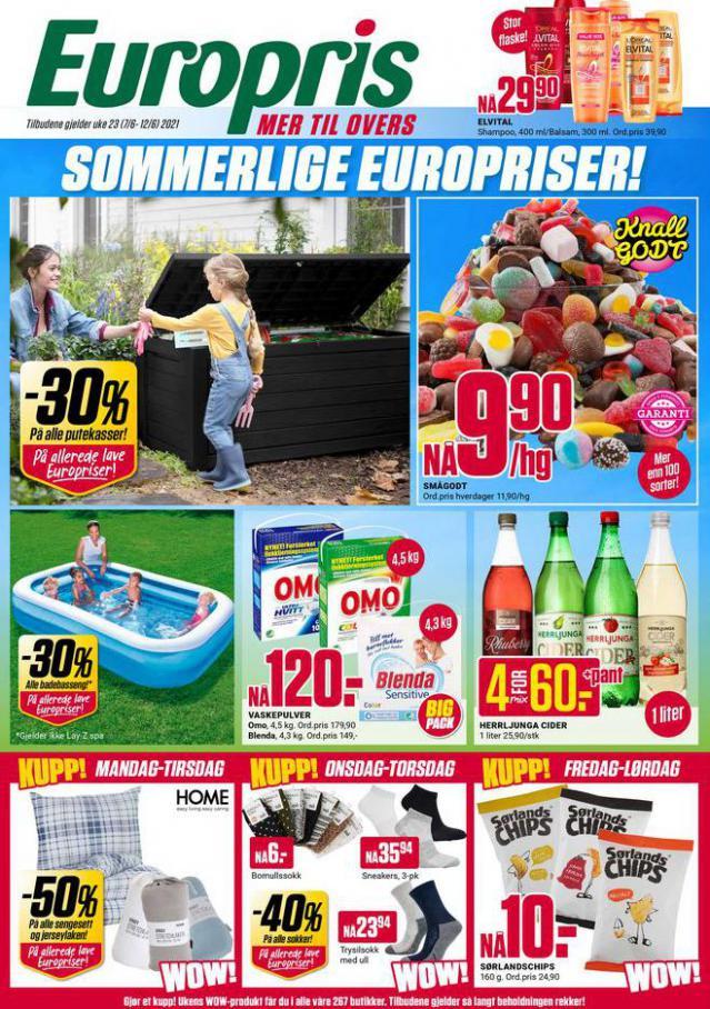 Ukens kundeavis! . Europris (2021-06-12-2021-06-12)