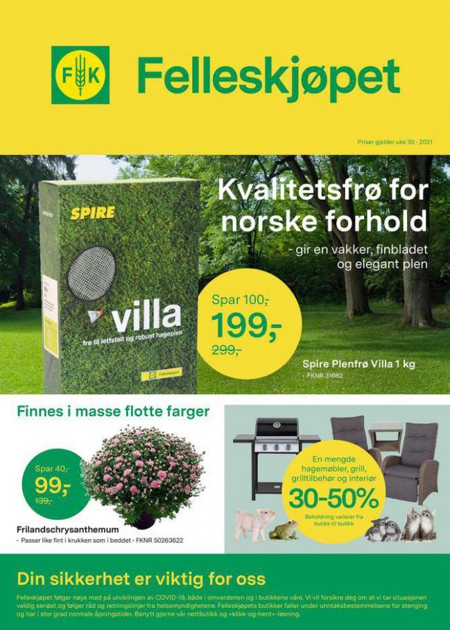 Felleskjøpet Kundeavis. Felleskjøpet (2021-08-12-2021-08-12)