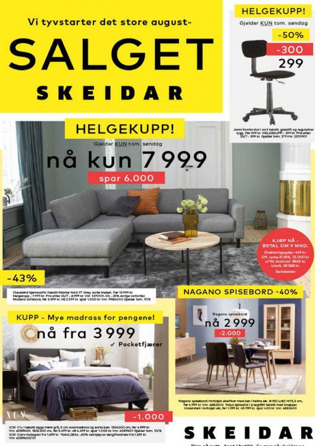 Salget Skeidar. Skeidar (2021-09-13-2021-09-13)