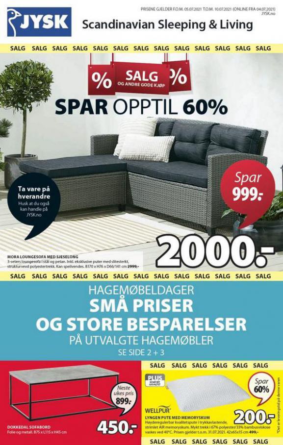 Catalog JYSK. JYSK (2021-07-10-2021-07-10)