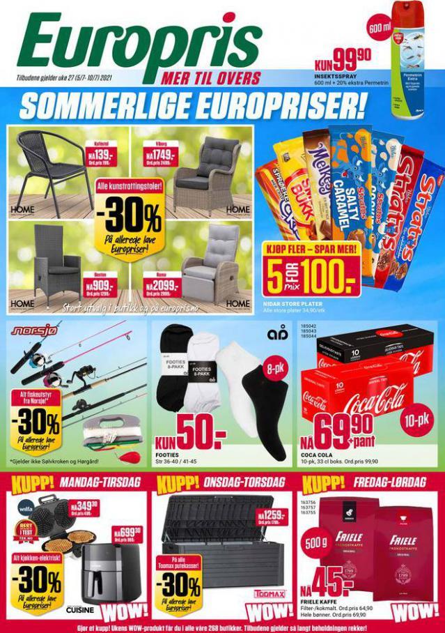 Kundeavis. Europris (2021-07-10-2021-07-10)
