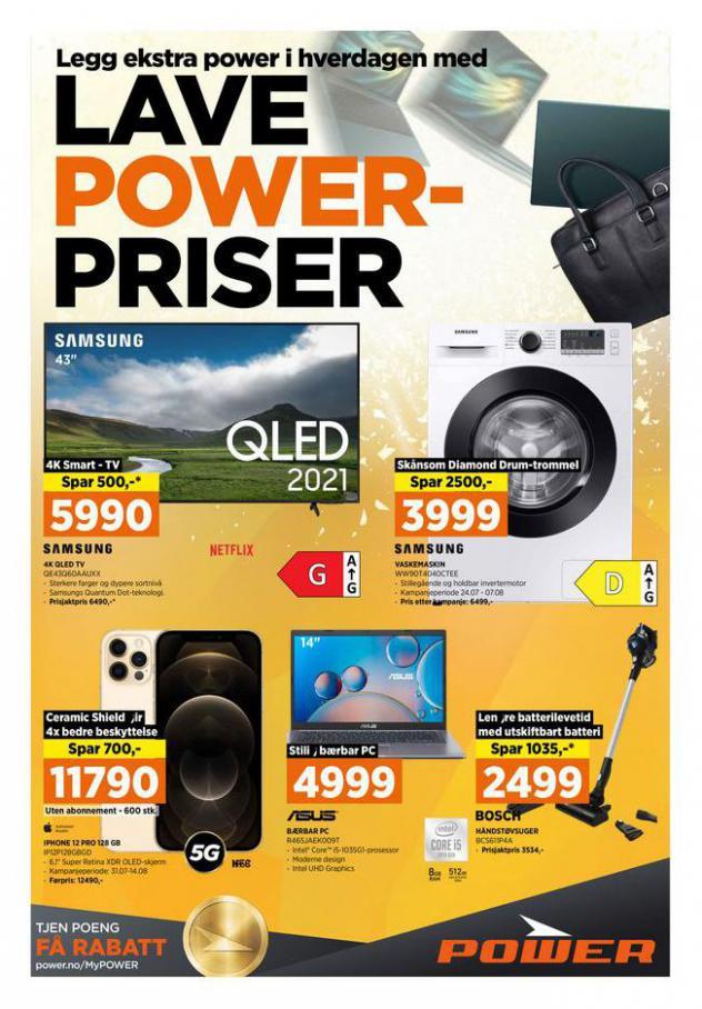 POWER Kundeavis. POWER (2021-08-07-2021-08-07)