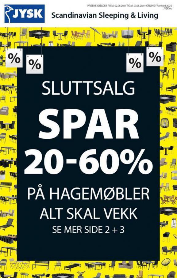 Catalog JYSK. JYSK (2021-08-07-2021-08-07)