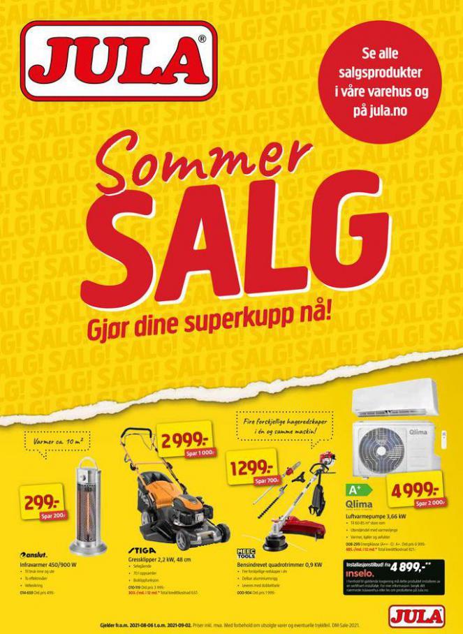 SOMMERSALG. Jula (2021-09-09-2021-09-09)